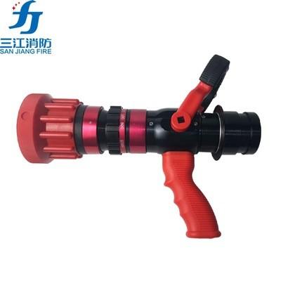 导流式直流喷雾水枪配备水带防缠绕接口QLD6.0/8无后座力消防水枪