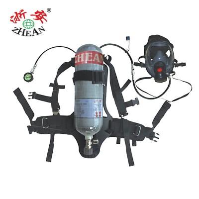 浙安集团正压式碳纤维空气呼吸器型号RHZKF6.8/30消防厂家直销